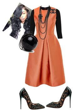 """""""Sunday's"""" by cogic-fashion on Polyvore featuring Topshop, Sophia Kah, Chanel and Christian Louboutin"""