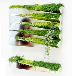 Below you could find an new interesting project by French company h2o architects. This creative wall decoration is named Grass Mirror. Its name completely reflects the main idea of this product to combine mirror and nature. Bright green grass blended with mirror surfaces looks very modern and stylish. Such mirror flower pots easily could decorate any wall and become an excellent addition to any interior design. Every pot presents itself as rectangular container which can be installed on a…