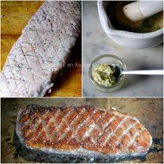 Plancha canard - Magret de canard grillé à la plancha et beurre d'herbes aromatiques