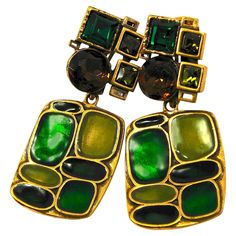 d640eed046ea Oscar de la Renta Earrings Long 3