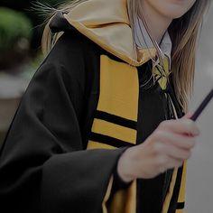 Army Crafts, Hogwarts Uniform, Hufflepuff Pride, Character Home, Yellow Tulips, Hogwarts Houses, Harry Potter Universal, Fantastic Beasts