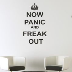 Funk This House | Saucy Funk with Keep Calm Wall Decals | http://funkthishouse.com