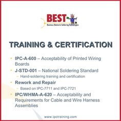 Groovy 19 Ipc Training And Certification Best Inc Images Certificate Wiring 101 Archstreekradiomeanderfmnl