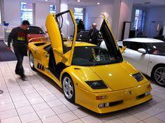 Lamborghini Diablo Jota R -  A priceless car that is a part of the Lamborghini Museum Stuttgard's collection