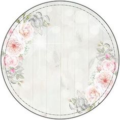 I love digi: Powitalny prezent - Top-Trends Flower Background Wallpaper, Flower Backgrounds, Decoupage Vintage, Decoupage Paper, Flower Circle, Flower Frame, Twinkle Twinkle Little Star Decorations, Transfer Images To Wood, Eid Stickers