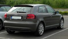 Audi A3 1.2 TFSI Ambition S-line (8P, 3. Facelift) – Heckansicht, 17. Mai 2011, Velbert - Audi A3 - Wikipedia