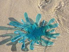 Sea Splash decorative bowl via Etsy