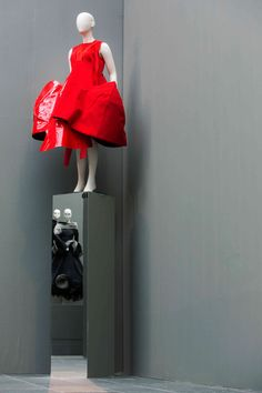 Comme des Garçon dress from isolde Pringiers'Private collection