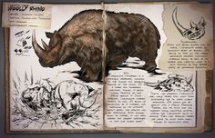 ARK: Survival Evolved — New dossier release, this time for the Woolly...