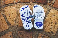 Recordação | Lembrancinha para convidados | Detalhes de casamento | Lembranças | Lembrancinhas | Lembrancinha de casamento | Inesquecível Casamento | Presente para os convidados | Wedding Gifts | Chinelo personalizado | Sandália personalizada