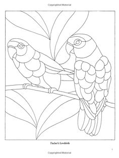 Decorative Birds Stained Glass Pattern Book (Dover Pictorial Archives): Linda Daniels: 9780486272672: Amazon.com: Books: