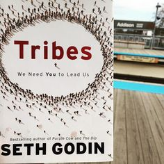 Train reads. Thanks to @loopthecoop for lending what's sure to be a great book by @sethgodin. -- #tribes #marketing #leaders #addison #cta #train #transportation #chicago #chicagoblogger #windycitybloggers #entrepreneur #book #booklove #Sethgodin #northcenter #chicagopics #chicagogram #reading