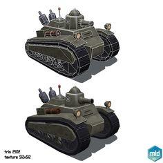Low Poly Tanks