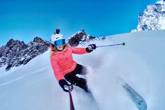 Our girl Julia Mancuso never fails to make her sport look flawless! #GoProGirl