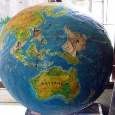 Sharing the Wonder of the World: Making a Paper Mache Globe Craft