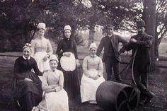 Victorian servants.