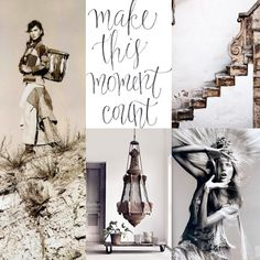 Moodboard l Make this moment count l BoHo by Pure Style interieur l styling