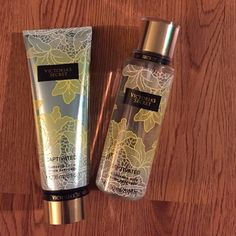 sale today onlyLOWEST PRICE DROP Captivated by Victoria's Secret set of lotion and body spray. NWOT never been used. Lotion is 8 oz and spray is oz. Victoria's Secret Other Body Spray, Price Drop, Fashion Design, Fashion Tips, Fashion Trends, Victoria Secret Pink, Lotion, Victoria's Secret, Shop My