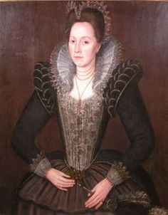 Lady Frances Howard, Countess of Kildare, daughter of Catherine Carey, granddaughter of Henry Carey, great-granddaughter of Mary Boleyn