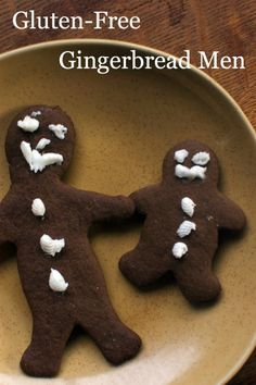 It's easy to make great gluten-free gingerbread men for the holidays.