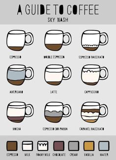 Easy guide for coffee lover