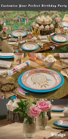 Give her the party she's been dreaming of with our Sweetest Dreams Party Supplies. This special theme combines lovely pastel colors, dream catchers and trendy tribal prints.