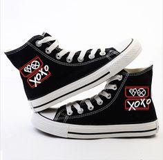 Zapatillas Converse EXO (XOXO) / Codigo: 1019  Talla: 35,36,37,38,39,40,41