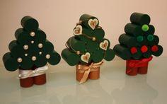 Mini sapins de Noël en liège - Marie Claire Idées