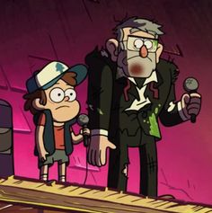 Dipper and Stan
