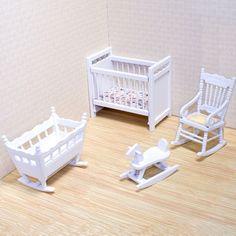 dollhouse furniture | Melissa and Doug Dollhouse Nursery Furniture
