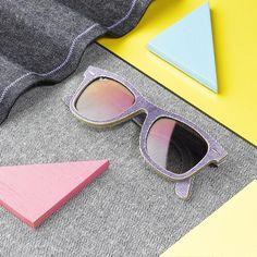 Purple denim, anyone? // The new color Denim #Wayfarer is available @ http://neverhi.de/7kkq