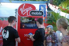 Virgin Mobile uses Tapit at Splendour in the Grass