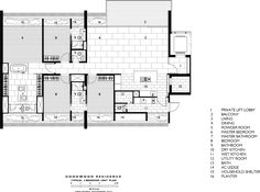 Goodwood Residence,Typical 4 Bedroom Unit Plan