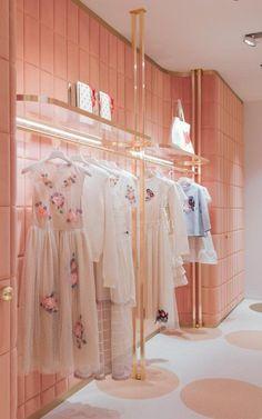 The India Mahdavi-designed REDValentino store in Rome