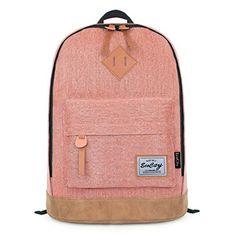 EcoCity Classic Vintage College School Laptop Backpack Bag Pack Super Cute for School (Pink) EcoCity http://www.amazon.com/dp/B00JAEH4X8/ref=cm_sw_r_pi_dp_S53Jub0EXS905