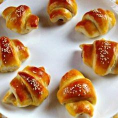 23 virslicsoda szilveszterre | Nosalty Ring Cake, Hot Dog, Pretzel Bites, Ketchup, Scones, Food To Make, Sushi, French Toast, Bacon