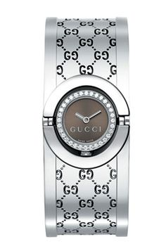 Gucci twirl diamond watch