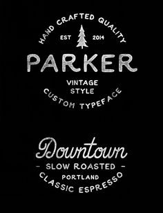 Parker, one of my many, many favorites from this collection.  100 GREATEST FREE FONTS 2015