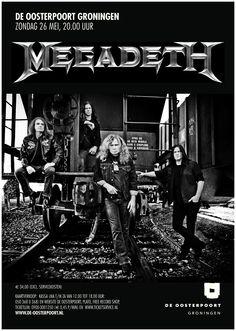 Megadeth is een Amerikaanse heavy metal band uit Los Angeles. De band – momenteel bestaand uit Dave Mustaine (vocals, guitars), David Ellefson (bass, background vocals), Chris Broderick (guitars, background vocals) en Shawn Drover (drums, percussion) – werd opgericht in 1983 en groeide uit tot een van de grootste bands uit de mid-80's en 90's. Tot op heden bracht Megadeth  dertien studio albums uit  en ontving elf Grammy-nominaties voor Best Metal Performance.