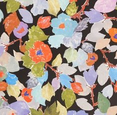 love floral patterns.