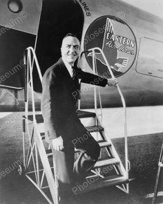 Edward Vernon Rickenbacker Airplane 1930 8x10 Reprint Of Old Photo