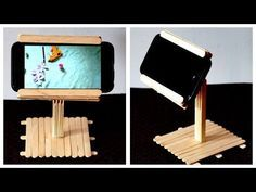 If you have any suggestion or feedback regarding the video, let it share in comment, your. Diy Crafts Hacks, Easy Diy Crafts, Diy Crafts For Kids, Diy Crafts To Sell, Craft Stick Projects, Diy Popsicle Stick Crafts, Craft Sticks, Diy Phone Stand, Pot A Crayon