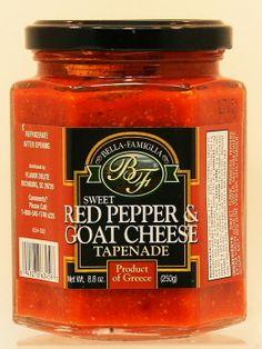 Bella Famiglia Red Pepper & Goat Cheese Tapenade - 8oz Local Price: 12.99      Your Price: 8.99