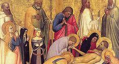 Giottino (Giotto di Maestro Stefano) - Pietà di San Remigio, dettaglio - c. 1350 - Galleria degli Uffizi, Firenze