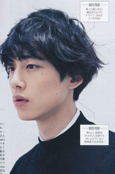 Sakaguchi Kentaro to model as Mamura Daiki Pretty Boys, Cute Boys, Beautiful Men, Beautiful People, Kentaro Sakaguchi, Grunge, Hair Reference, Japanese Boy, Poses
