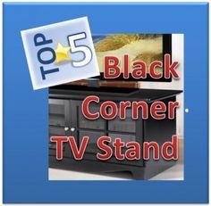 Black Corner Tv Stand, Compliments, Top
