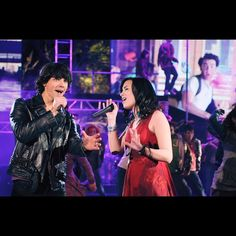 Mitchie and Shane won viewers hearts during the Final Jam competition with What We Came Here For #CampRock2TheFinalJam #100DCOMs by disneychannelpr