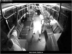 A bus driver on October 1, 2012 at around 9:00 p.m was struck in the face. He suffered from serious injuries and was knocked unconscious.