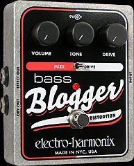 EHX.com | Bass Blogger - Distortion/Overdrive | Electro-Harmonix  #BassGear
