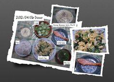 For Dinner on 06 April 2012